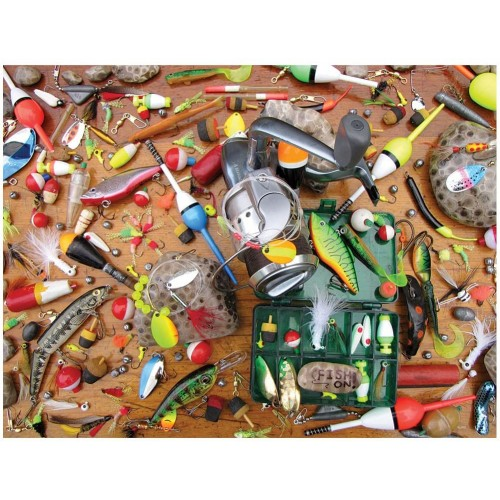 Lures And Legends 550 Piece Jigsaw