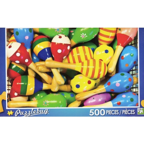 Puzzlebug Colorful Maracas 500 Pc Jigsaw