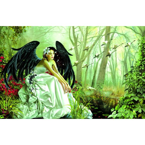 Swan Song 1000 Piece Jigsaw Puzzle By