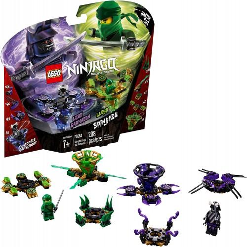 Lego Ninjago Spinjitzu Lloyd Vs Garmadon 70664 Building Kit 208