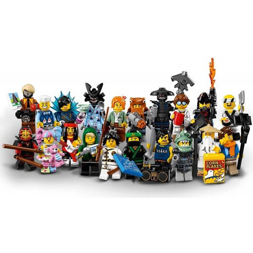 Lego Ninjago Movie Collectible Minifigures Complete Set Of 20 Sealed
