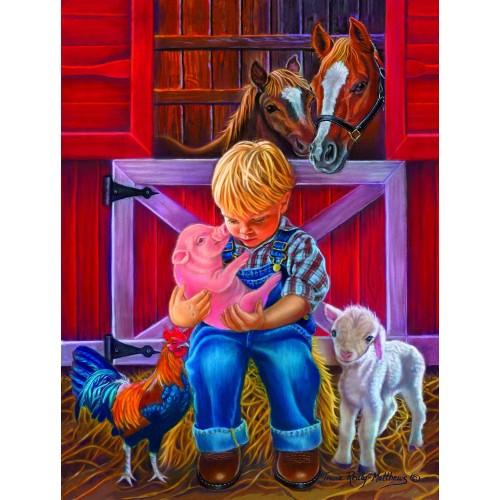 Little Farm Friends 300 Pc Jigsaw Puzzle By