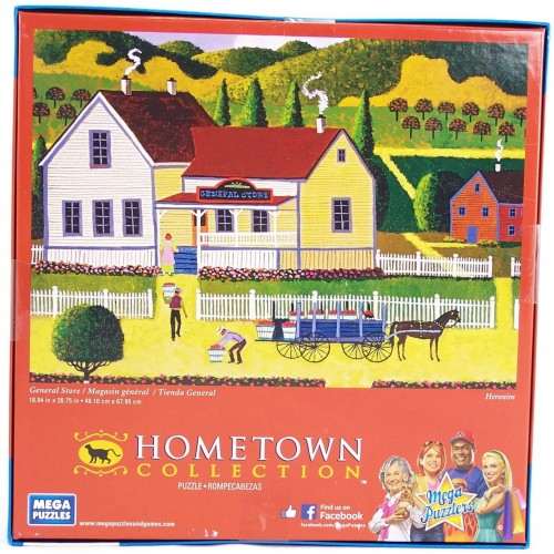 Hometown Collection General Store 1000 Piece Jigsaw Puzzle By
