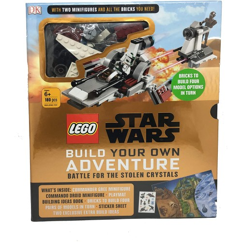 Lego Star Wars Battle For The Stolen Crystals Build Your Own Adventure 2 Minifigures And Brick Set