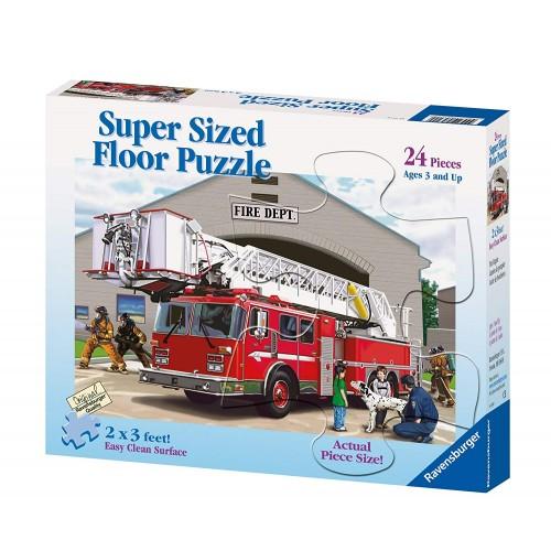 Fire Engine – 24 pc Floor Puzzle