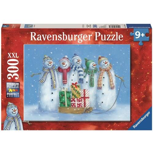 Ravensburger Snowman Family 300 Piece Christmas