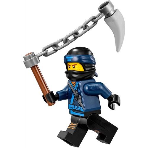 Lego The Ninjago Movie Minifigure Jay In Ninjao Suit W Spiked Chain