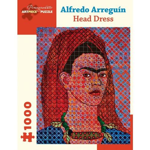 Alfredo Arreguin Head Dress 1000Piece Jigsaw