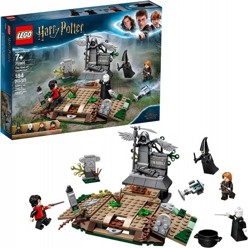 Lego Harry Potter And The Goblet Of Fire Rise Voldemort 75965 Building Kit 184