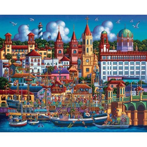 Dowdle Jigsaw Puzzle St Augustine 500