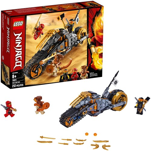 Lego Ninjago Coles Dirt Bike 70672 Building Kit 212