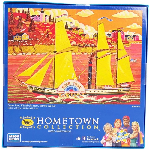 Hometown Collection Ocean Star 1000 Piece Jigsaw Puzzle By