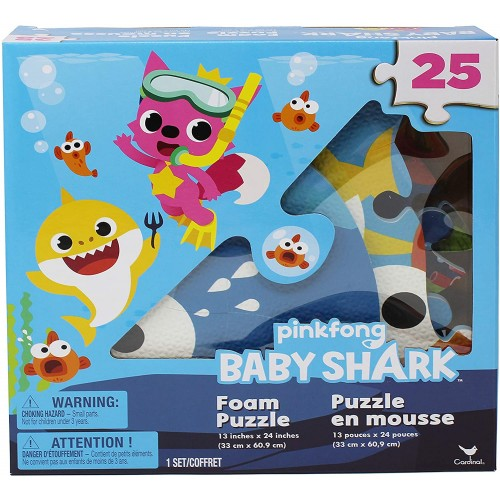 Pinkfong Baby Shark 25Piece Foam