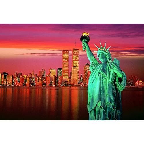 Tomax Statue Of Liberty 1000 Piece Glowinthedark Jigsaw