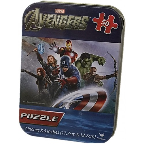Marvel Avengers 50 Piece Puzzle In A
