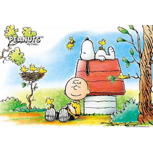 Snoopy Design 300 Pieces Jigsaw Puzzle Finished Size