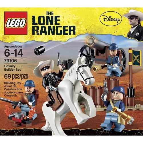 Lego The Lone Ranger Cavalry Builder Set