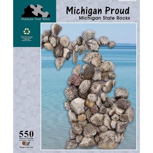Michigan Proud State Rocks
