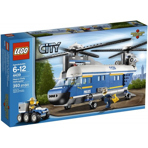 Lego City Police Heavylift Helicopter