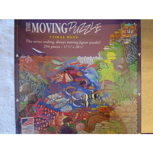 The Moving Puzzle Coral Reef 294