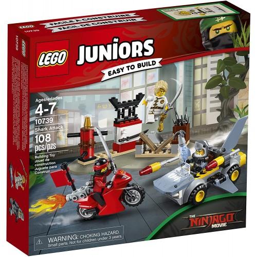 Lego Juniors Shark Attack 10739 Building Kit 108