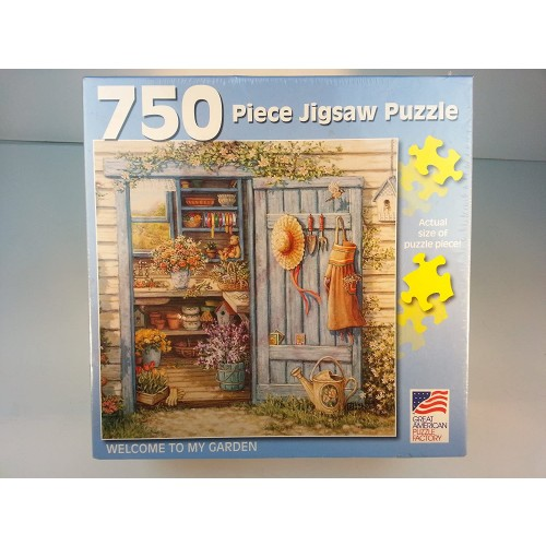 Great American Puzzle Factory Welcome To My Garden 750 Piece
