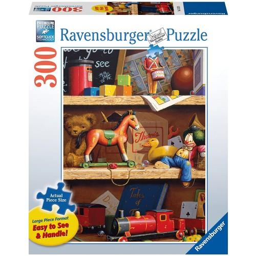 Toy Shelf 300 Piece Large Format