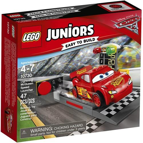 Lego Juniors Lightning Mcqueen Speed Launcher 10730 Building