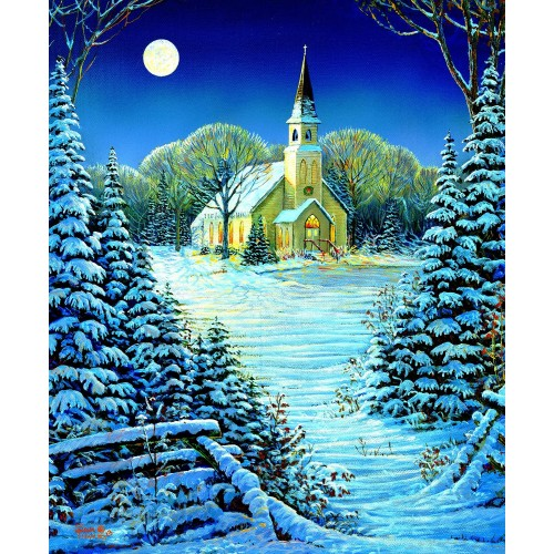 The Heart Of Season 1000 Piece Jigsaw Puzzle By Sunsout Chapel