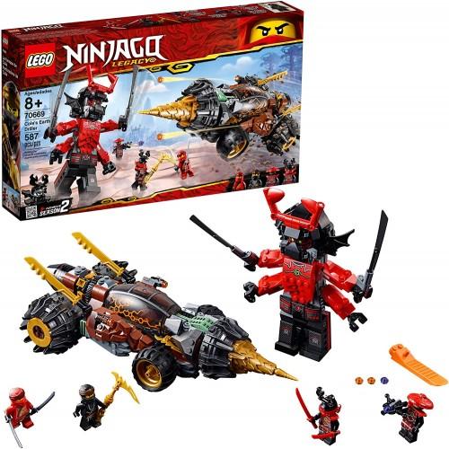 Lego Ninjago Legacy Coles Earth Driller 70669 Building Kit 587