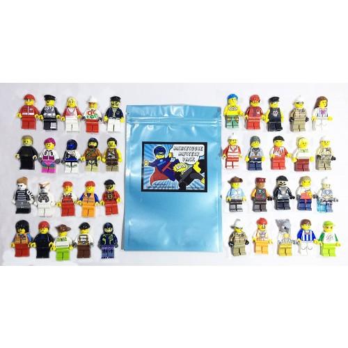 Lego Lot Of 10 Minifigures Random Star Wars Ninjago More Us