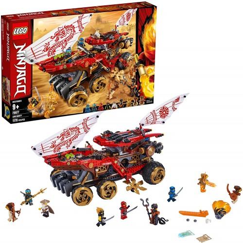 Lego Ninjago Land Bounty 70677 Toy Truck Building Set With Ninja Minifigures Popular Action