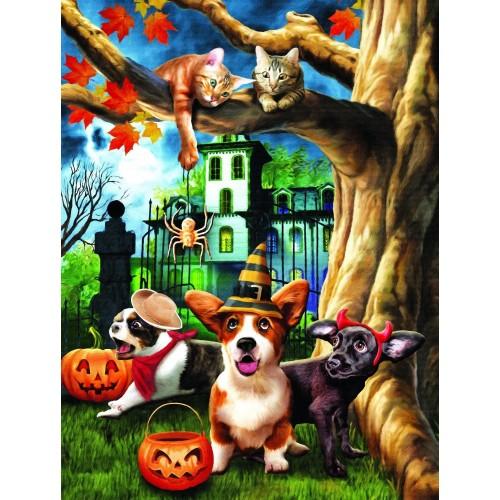 Halloween Hijinx 300 Pc Jigsaw Puzzle By