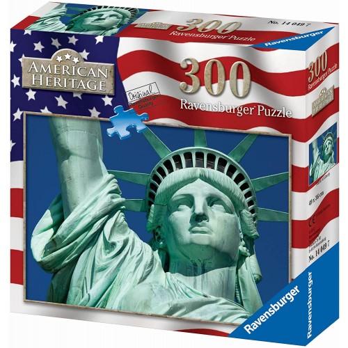Ravensburger Statue Of Liberty 300 Piece