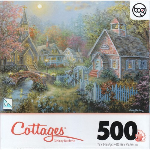 George Moral Guidance By Nicky Boehme 500 Piece