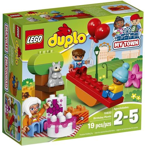 Lego Duplo My Town Birthday Party 10832 Preschool Prekindergarten Large Building Block Toys For