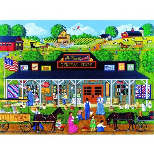 Mckennas General Store 1000 Pc Jigsaw Puzzle By