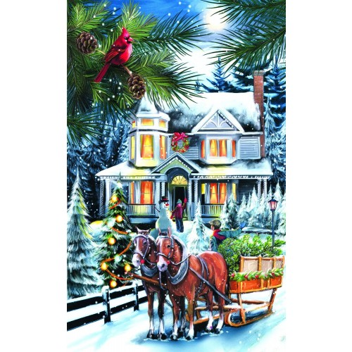 Here Comes The Tree 300 Piece Jigsaw Puzzle By Sunsout Christmas