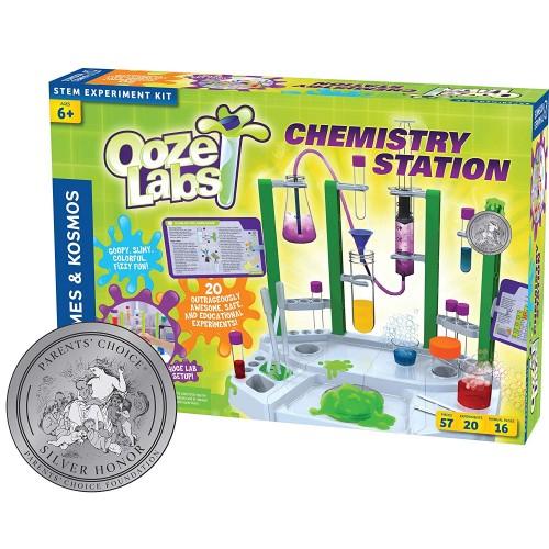 Ooze Labs Chemistry Station Science Kit