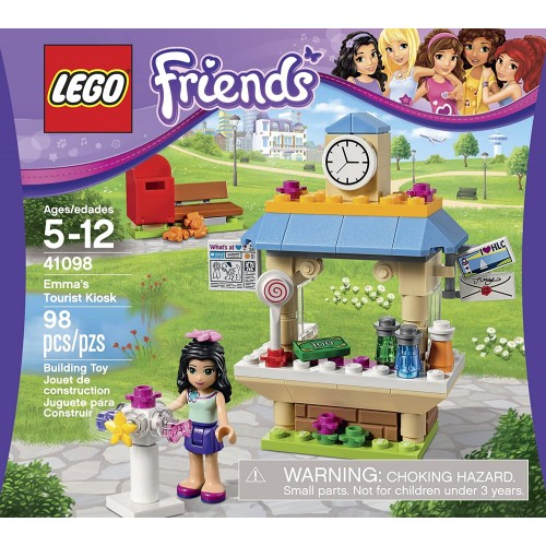 Lego Friends 41098 Emmas Tourist Kiosk Building
