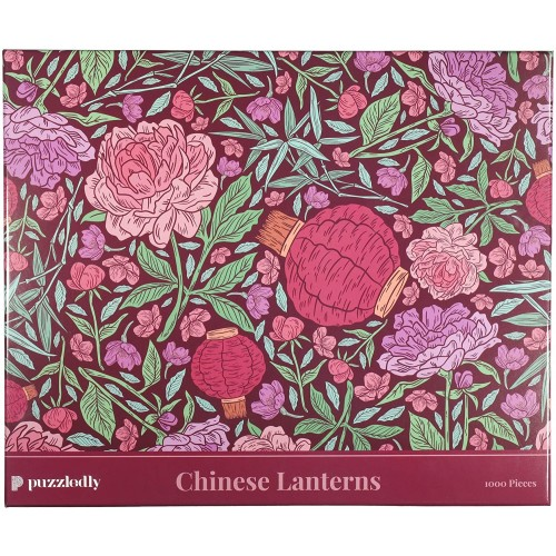 Chinese Lanterns 1000 Piece Jigsaw Puzzle By Puzzledly For Adults