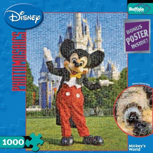 Buffalo Games Disney Photomosaic Mickeys