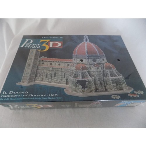 Milton Bradley Puzz 3D Il Duomo Cathedral Of Florence