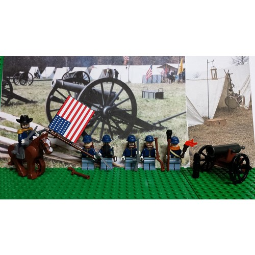 Lego Civil War Union Army Northern Of The Potomac With General Ulysses S