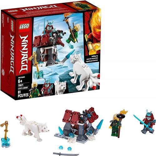Lego Ninjago Lloyds Journey 70671 Building Kit 81