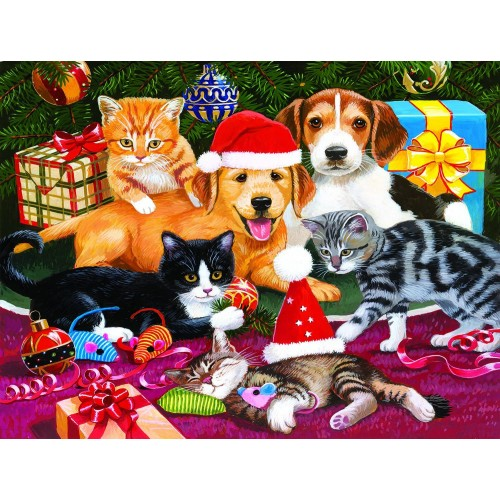 Christmas Meeting 300 Piece Jigsaw Puzzle By