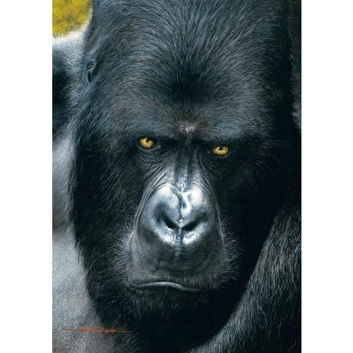Buffalo Games Eyes Of The Wild Mountain Gorilla 500Pc Jigsaw