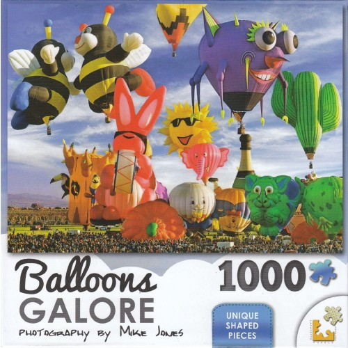 Balloons Galore 1000 Piece Puzzle Funky