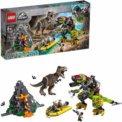 Lego Jurassic World T Rex Vs Dino Mech Battle 75938 716