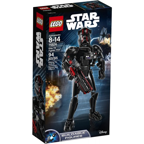 Lego Star Wars Episode Viii Elite Tie Fighter Pilot 75526 Building Kit 94